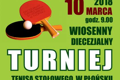 Diecezjalny Wiosenny Turniej Tenisa Stołowego