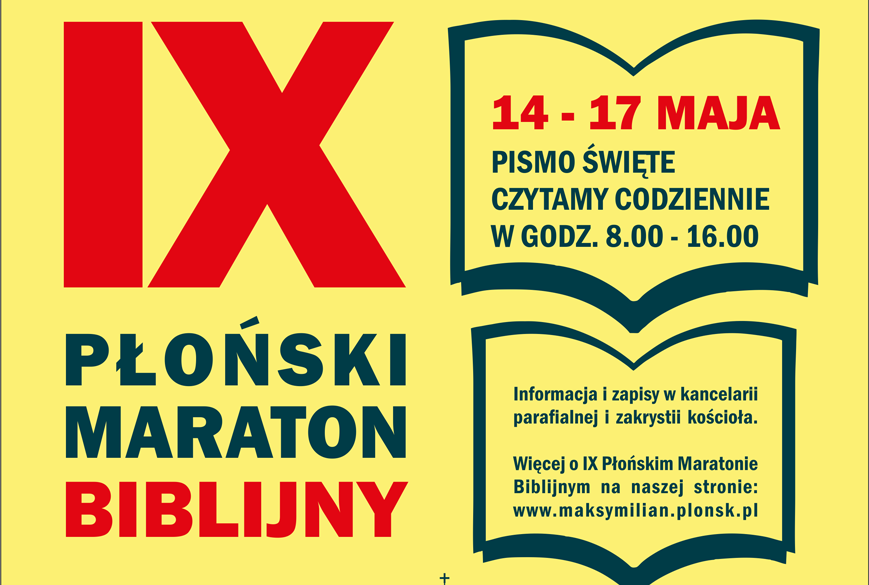 IX Płoński Maraton Biblijny