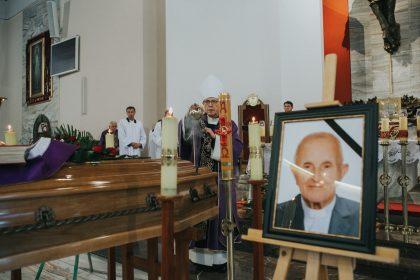 Pogrzeb śp. ks. kan. Ludwika Jasińskiego