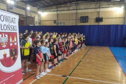 Jesienny Diecezjalny Turniej Tenisa Stołowego w Płońsku w 43 rocznicę wyboru Karola Wojtyłły na Stolicę Piotrową